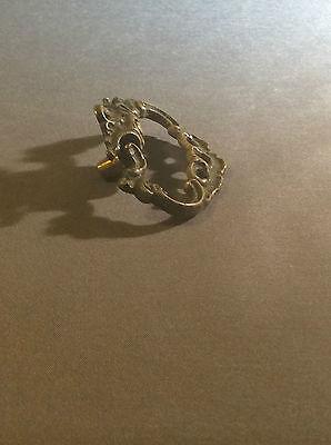 Antique brass drawer pulls 5