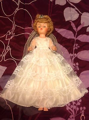 Vintage Bride Doll - Marked A 5