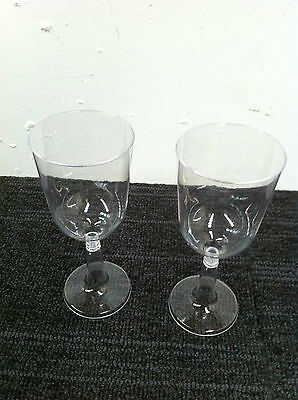 Wine Goblets 197 ML Clear plastic 250 pieces / Carton ( 25 sleeves x 10 pcs ) 3
