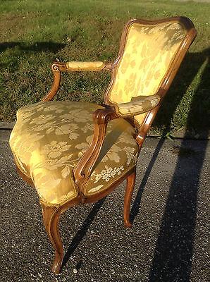 Baroque Chair Armchair Louis XV Art furniture Rococo Antique Vintage Type 4
