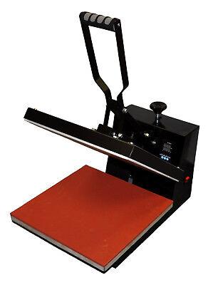 "15x15"" Heat Press,500g Metal Vinyl Cutter Plotter,Printer+CISS+Ink Tshirt Bundle 3"