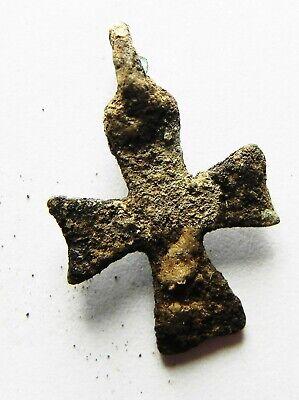Zurqieh - As12440-  Ancient Byzantine Bronze Cross. 600 A.d - Jordan 2