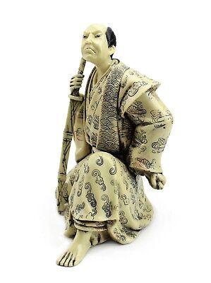 Japanese Warrior Samurai Bushi 武士 ぶし侍 Figurine Statue For Home Office Decor