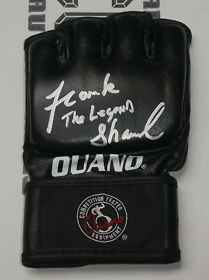 Frank Shamrock Signed Official UFC Glove BAS Beckett COA Autograph 16 17 22 MMA