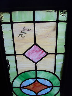 Simple arts and crafts stained glass window (SG 1201) 2