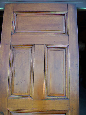 Solid Oak Int. door 5 Raised panels very nice door (D 8) 3