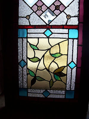 Colorful Stained Glass TEXTURED w/ jewels (SG 1026) 2