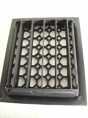 "5-fin honeycomb heating grate 8"" x 10"" insert (G 368) 2"