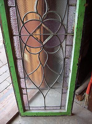 Symmetrical Wave Glass TRANSOM Window Amethyst (SG 1141) 7