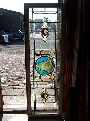 Stained glass surrounded with transparent clear glass (SG 1310)
