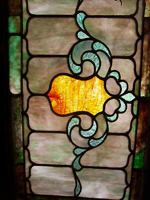 Stained glass Crest center feature window  (SG 1331) 3