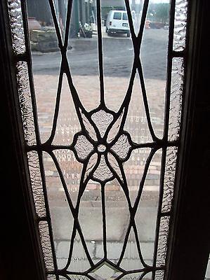 Beveled Diamonds and center jewel textured glass tansom window (SG 1203) 3