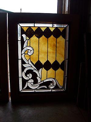 3 pc. set of elaborate windows beautiful bevel cuts magnificent design (SG 1287) 5