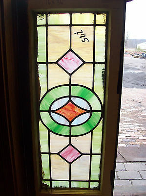 Simple arts and crafts stained glass window (SG 1201) 5