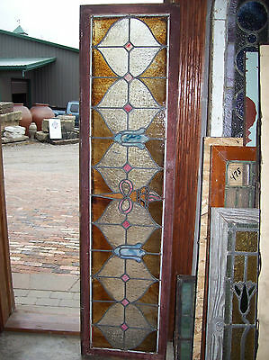 Infinity torch stained glass window (SG 1281) 5