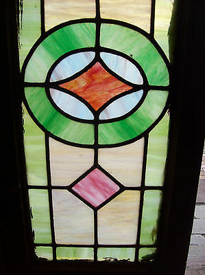 Simple arts and crafts stained glass window (SG 1201) 3