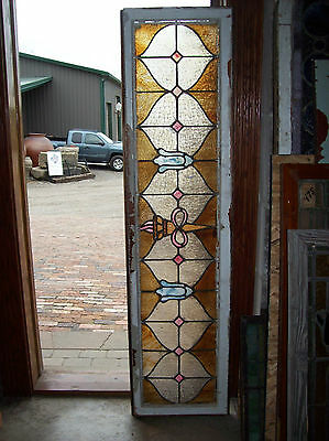 Infinity torch stained glass window (SG 1281)