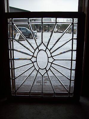 Oval Center Bevel burst glass window  (SG 1367) 4