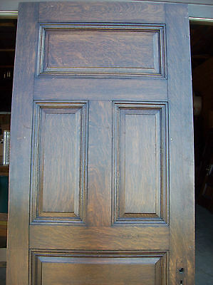 Solid Oak Int. door 5 Raised panels very nice door (D 8) 6