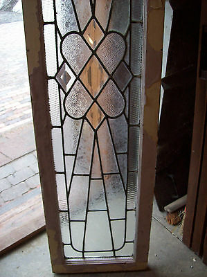 Textured glass window outburst with bevel center pieces (SG 1138) 4