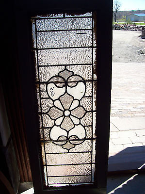 Textured transom window with floral center (SG 1217) 5