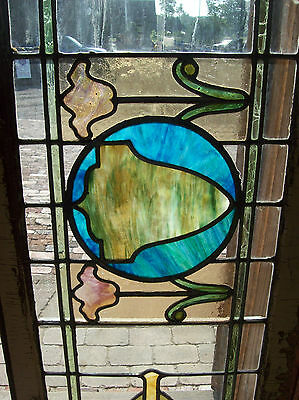 Stained glass surrounded with transparent clear glass (SG 1310) 4