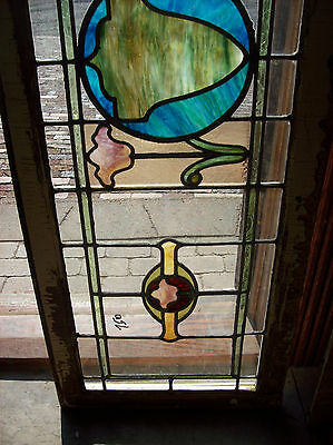 Stained glass surrounded with transparent clear glass (SG 1310) 3
