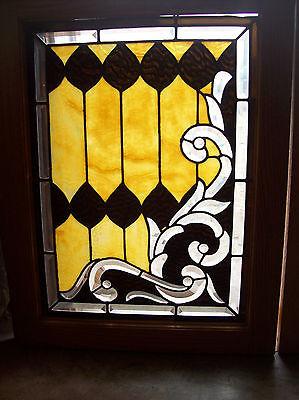 3 pc. set of elaborate windows beautiful bevel cuts magnificent design (SG 1287) 2