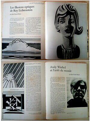 1973 Fine ROBERT INDIANA & HANS HARTUNG original LITHOGRAPHS XX Siecle ART BOOK 9