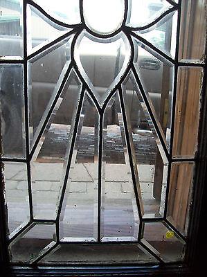 Flower rays beveled glass window (SG 1450) 4