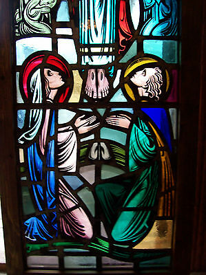 Christ in Majesty Stained glass window (SG 1432) 2