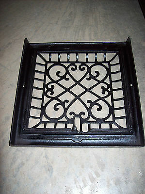 Cast iron wall mount heating grate no back plate (G 73) 3