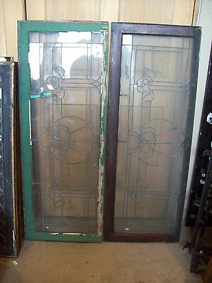 3 available matching floral flat glass transoms   (SG 1507) 5