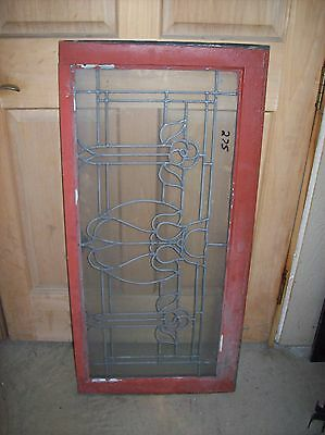 flat glass floral window transom   (SG 1508) 2