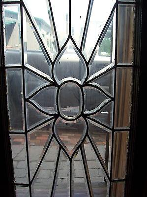 Flower rays beveled glass window (SG 1450) 3