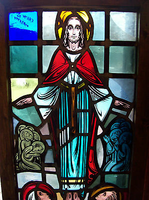 Christ in Majesty Stained glass window (SG 1432) 3