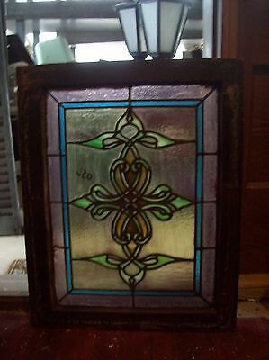 Cool Stained glass pointy window  (SG 1594) 2