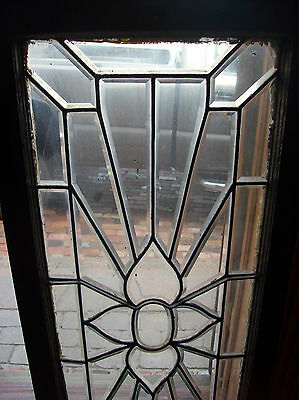 Flower rays beveled glass window (SG 1450) 2