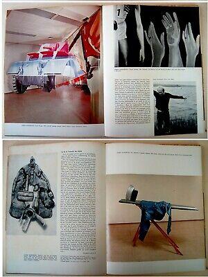 1973 Fine ROBERT INDIANA & HANS HARTUNG original LITHOGRAPHS XX Siecle ART BOOK 6
