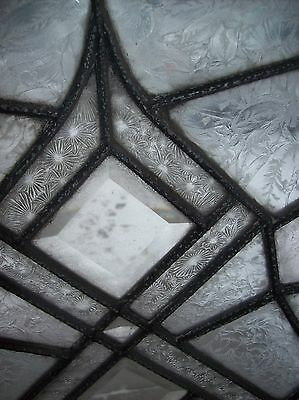 3 available abstract windows textured glass with bevels   (SG 1543) 5
