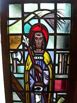 Christ the Almighty Stained glass window (SG 1433) 2