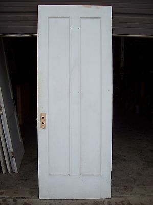Single painted vertical panel door     (D j) 5