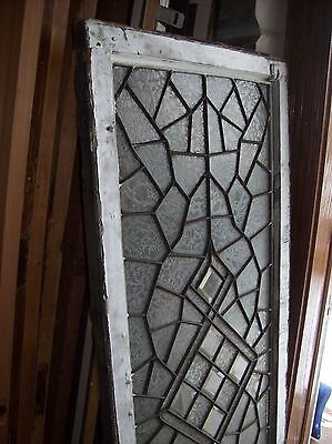 3 available abstract windows textured glass with bevels   (SG 1543) 6