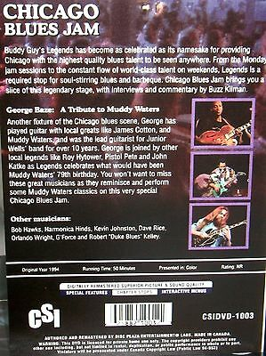 CHICAGO BLUES JAM George Baze:Tribute to Muddy Waters Concert Music DVD NEW!