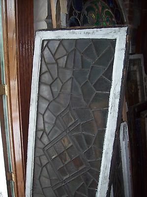 3 available abstract windows textured glass with bevels   (SG 1543) 7