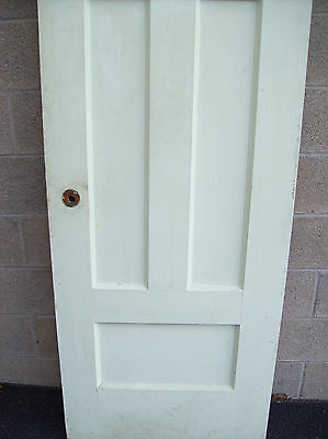 Single OAK painted door one two one (CM 10) 2
