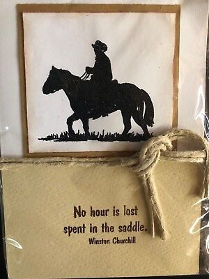Western Stamps Rodeo Cowgirl Waving Unmounted Rubber Stamps Horse Cowgirls