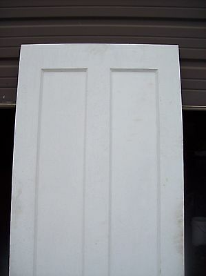 Single painted vertical panel door     (D j) 2