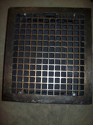 4 available massive heavy heating grates simple squares design (G 121) 2