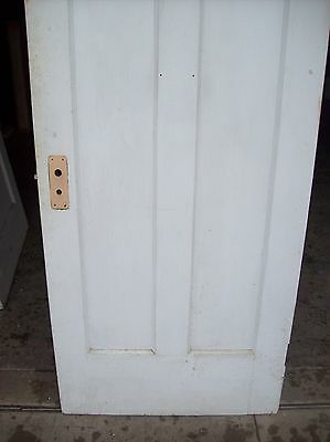 Single painted vertical panel door     (D j) 7